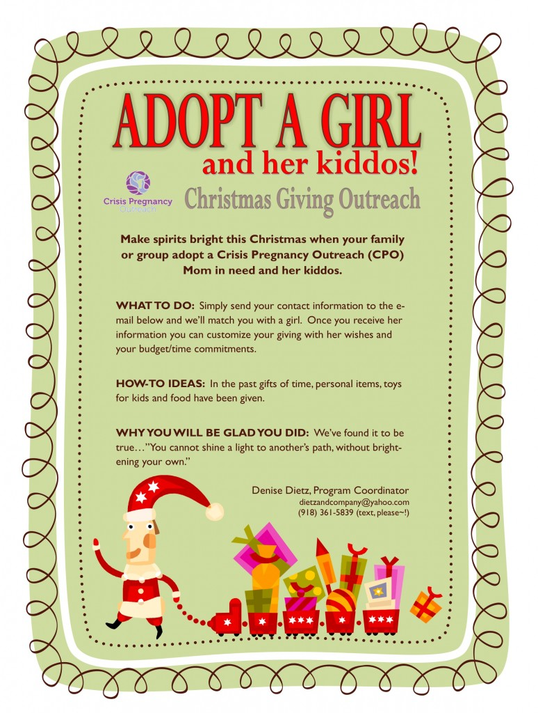 Adopt a Girl and Her Kiddos 2014