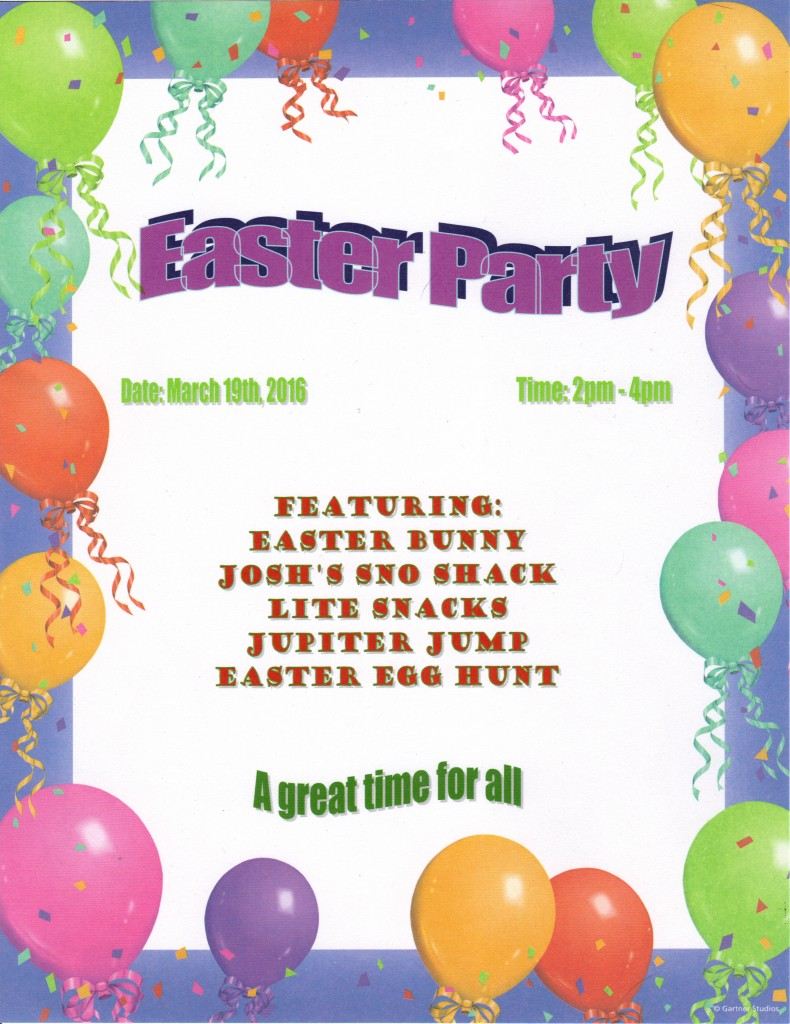 2016 Easter Party
